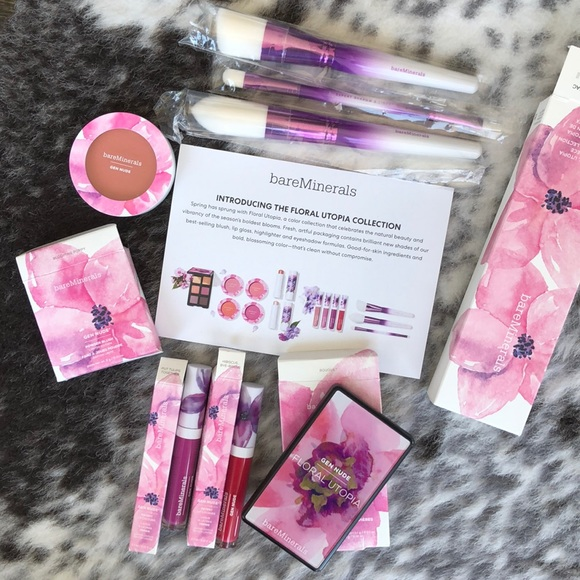 bareMinerals Other - BareMinerals Floral Utopia Collection